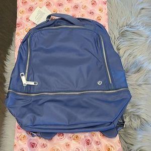 Nwt! Lululemon city adventurer backpack ink blue